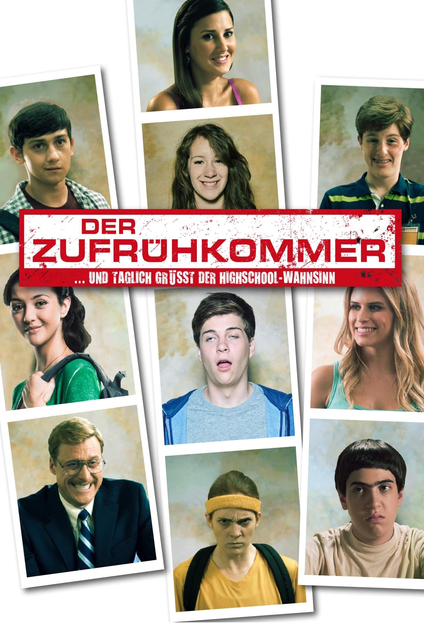"""Plakat von """"Der Zufrühkommer"""""""