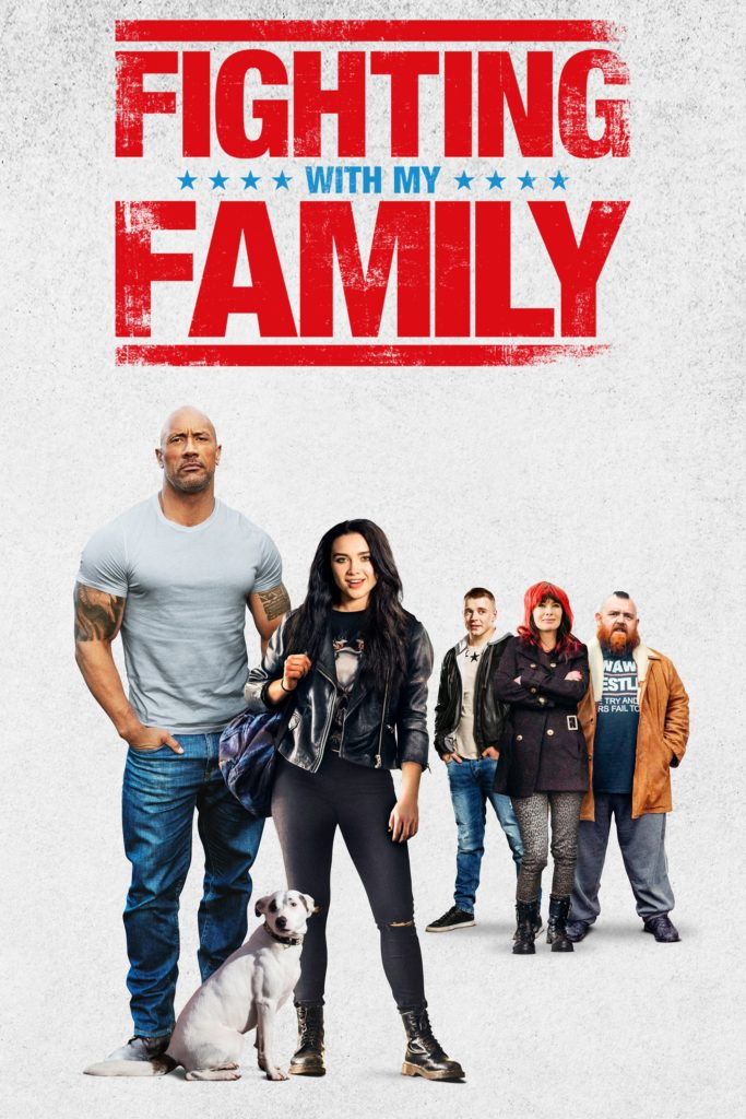 "Plakat von ""Fighting with My Family"""