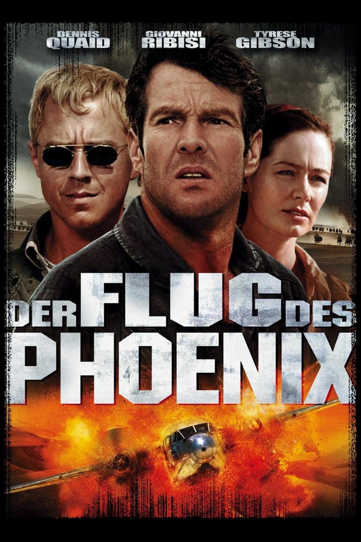 """Plakat von """"Der Flug des Phoenix"""""""