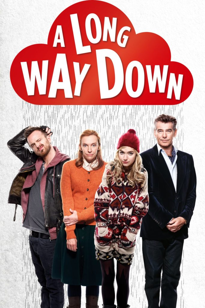 "Plakat von ""A Long Way Down"""