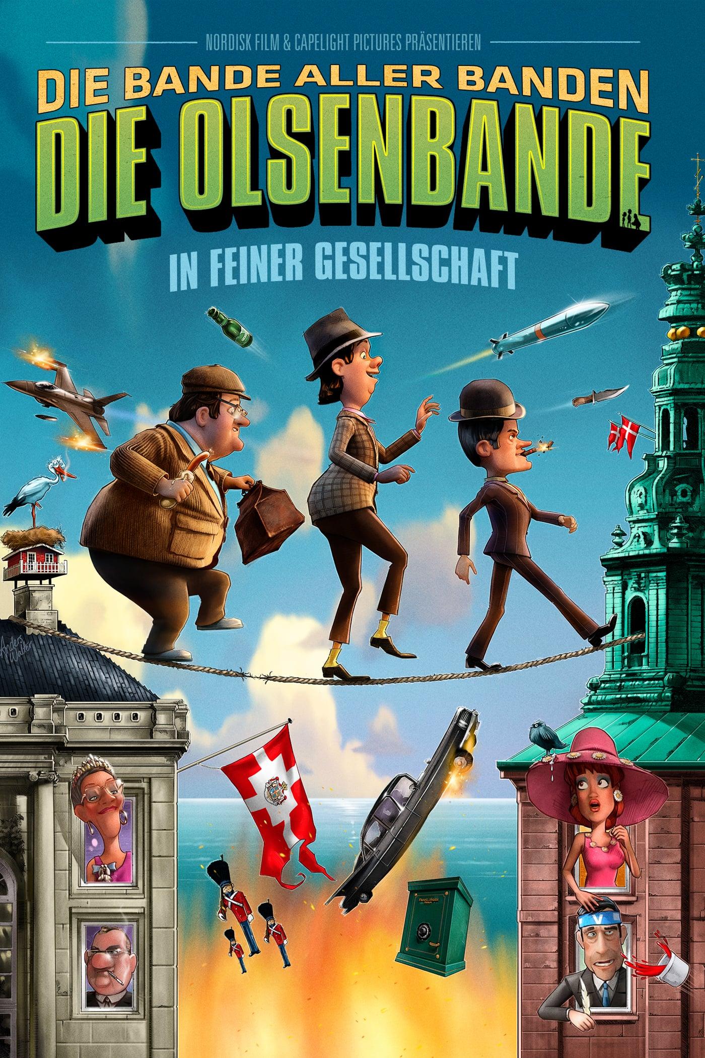 """Plakat von """"Die Olsenbande in feiner Gesellschaft"""""""