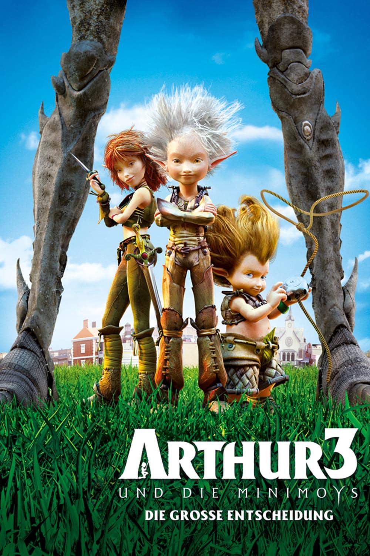 """Plakat von """"Arthur und die Minimoys 3 - Die große Entscheidung"""""""