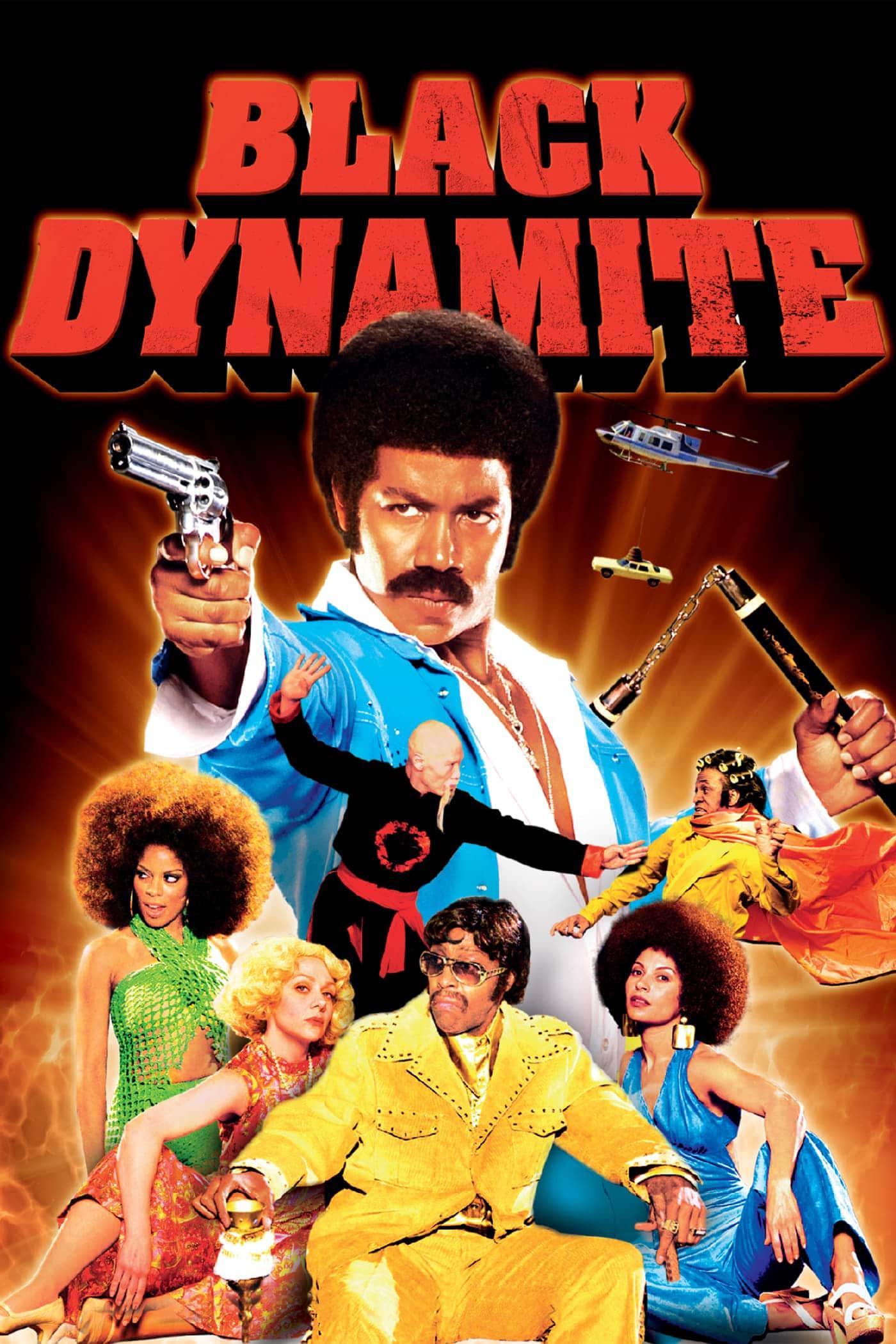 """Plakat von """"Black Dynamite"""""""
