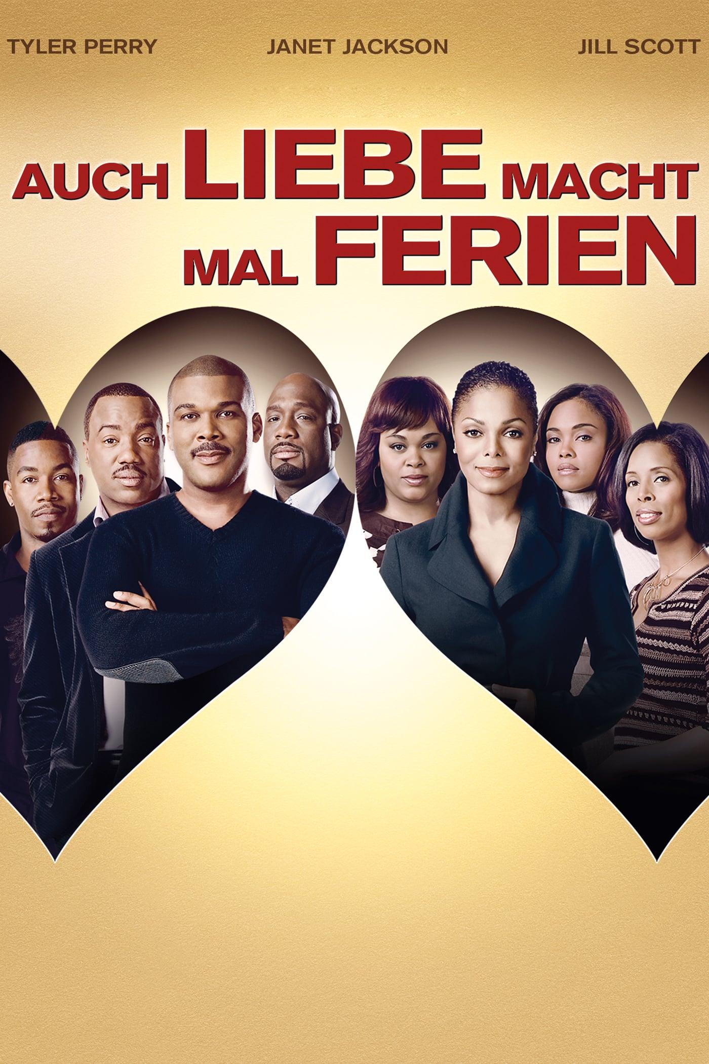 """Plakat von """"Auch Liebe macht mal Ferien"""""""