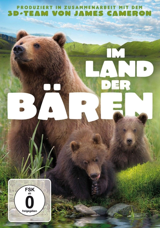 """Plakat von """"Terre des ours - Im Land der Bären"""""""