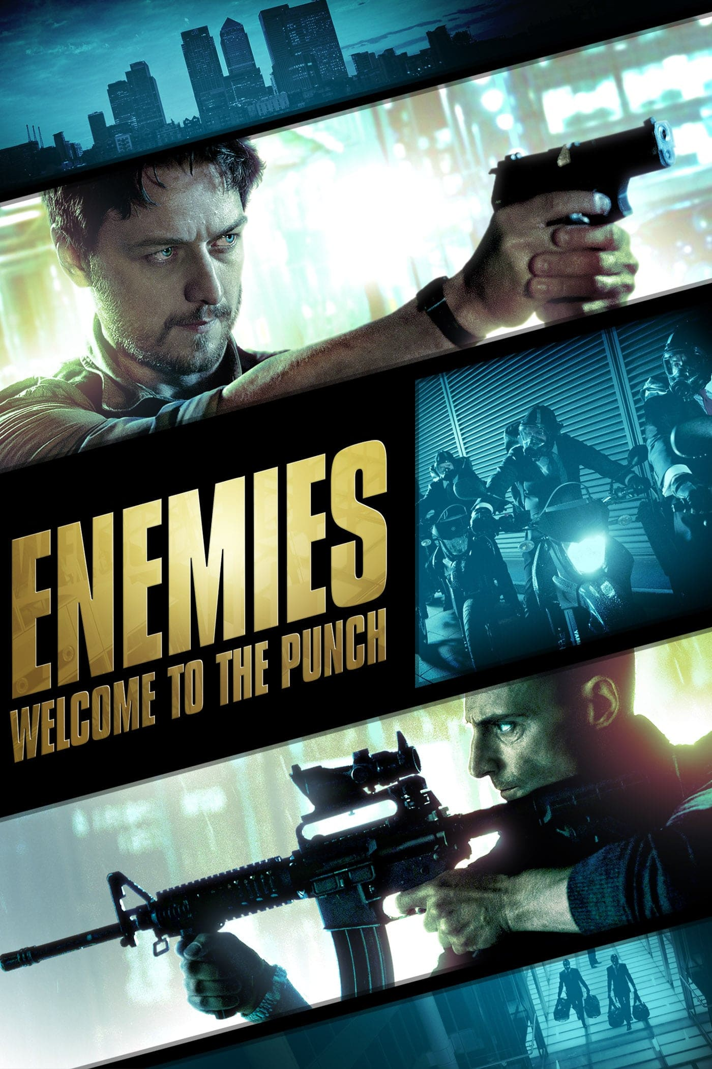 "Plakat von ""Enemies - Welcome to the Punch"""