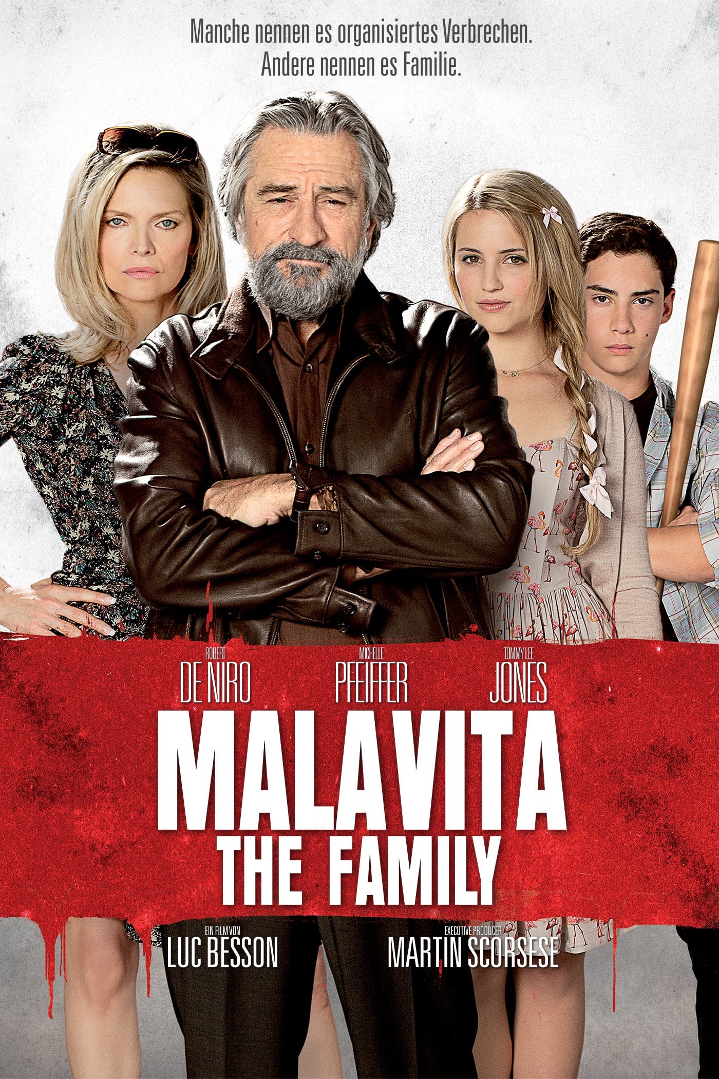 "Plakat von ""Malavita - The Family"""