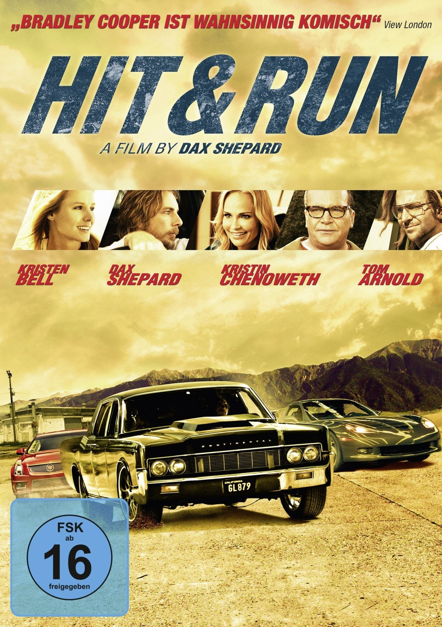 "Plakat von ""Hit and Run"""