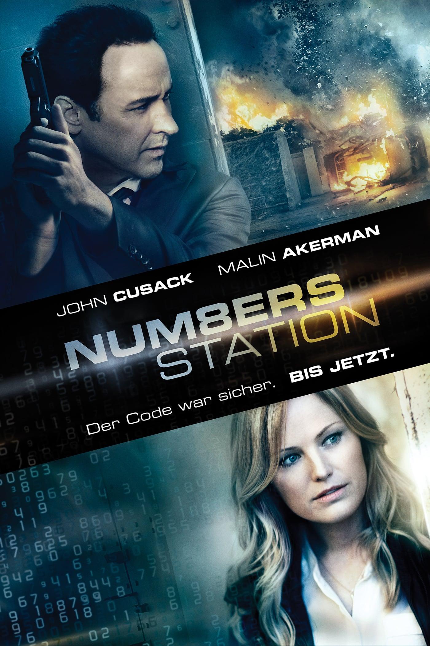 """Plakat von """"Numbers Station"""""""