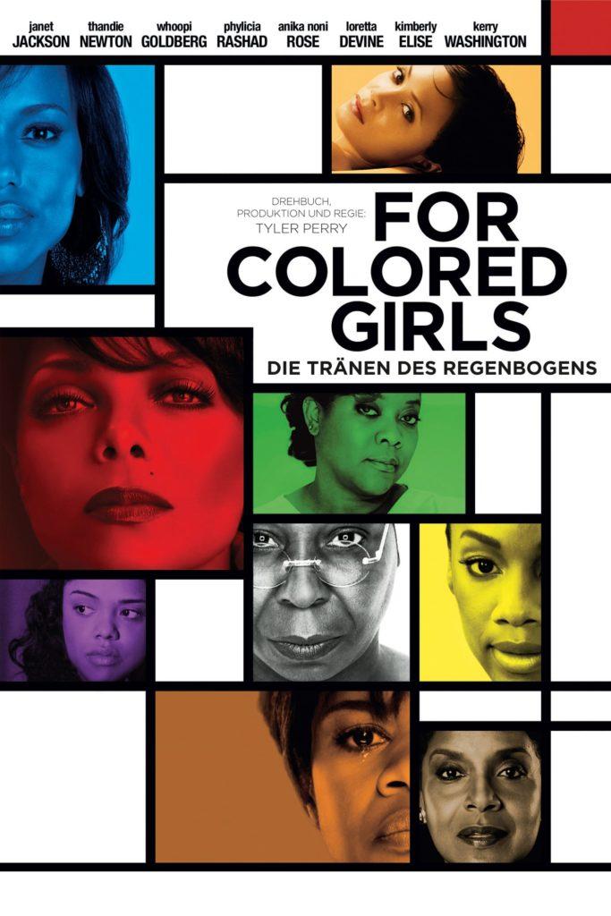 """Plakat von """"For Colored Girls - Die Tränen des Regenbogens"""""""