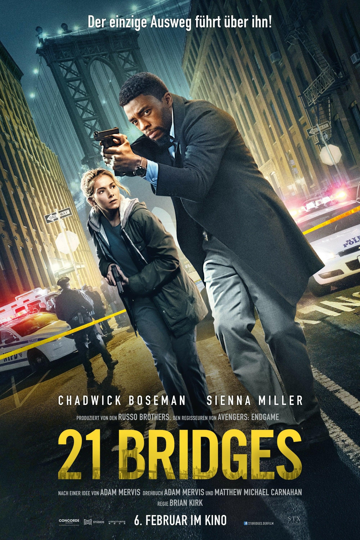 "Plakat von ""21 Bridges"""