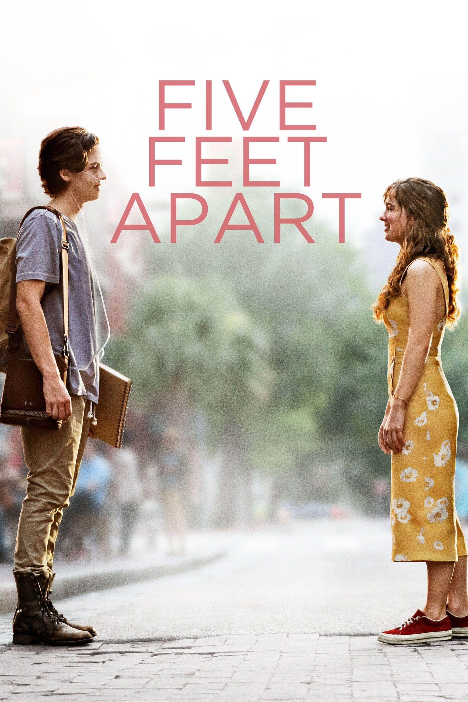 """Plakat von """"Five Feet Apart"""""""