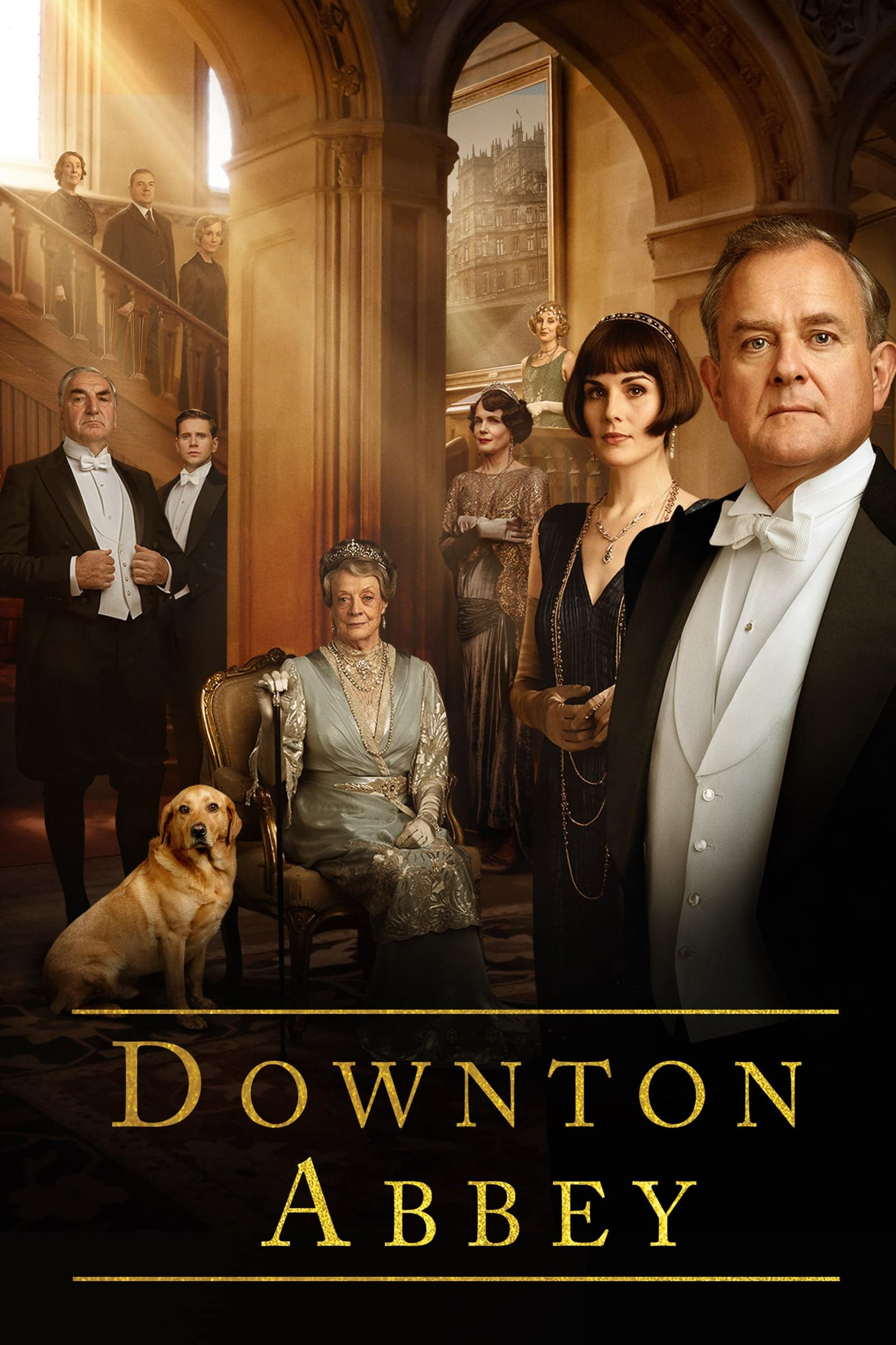 "Plakat von ""Downton Abbey"""