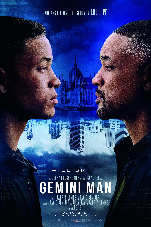 """Plakat von """"Gemini Man"""""""