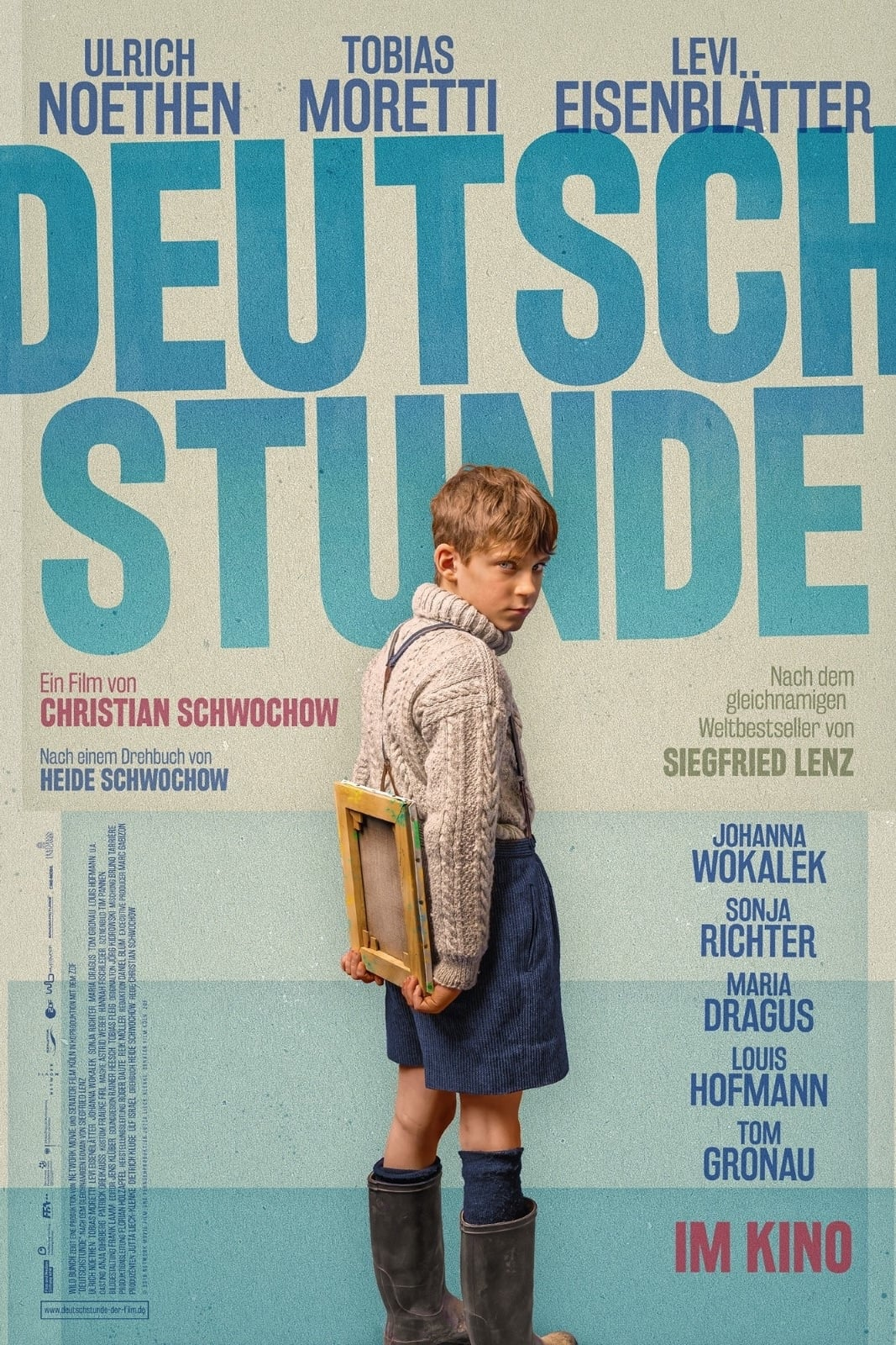 """Plakat von """"Deutschstunde"""""""