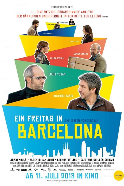 """Plakat von """"Ein Freitag in Barcelona"""""""