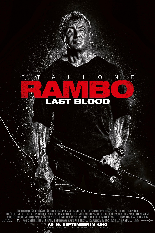 """Plakat von """"Rambo - Last Blood"""""""