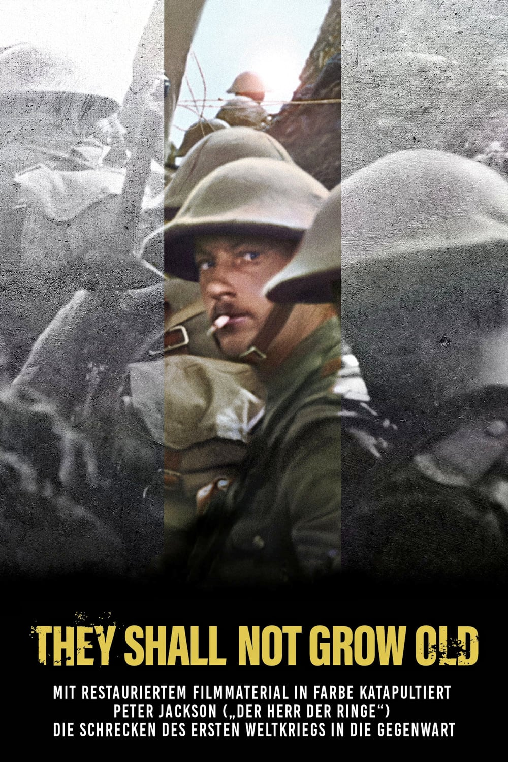 "Plakat von ""They Shall Not Grow Old"""
