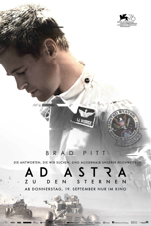 """Plakat von """"Ad Astra"""""""