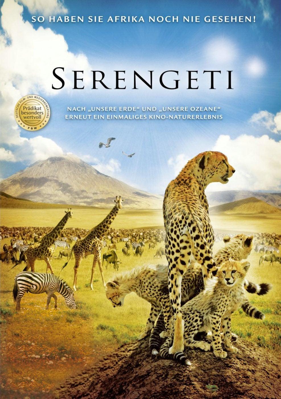 """Plakat von """"Serengeti"""""""