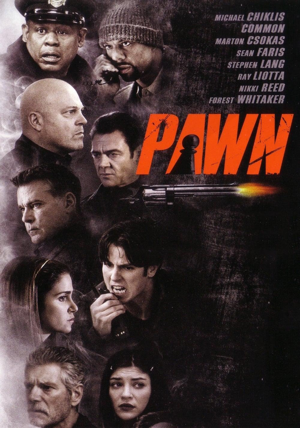 """Plakat von """"Pawn - Wem kannst du vertrauen?"""""""