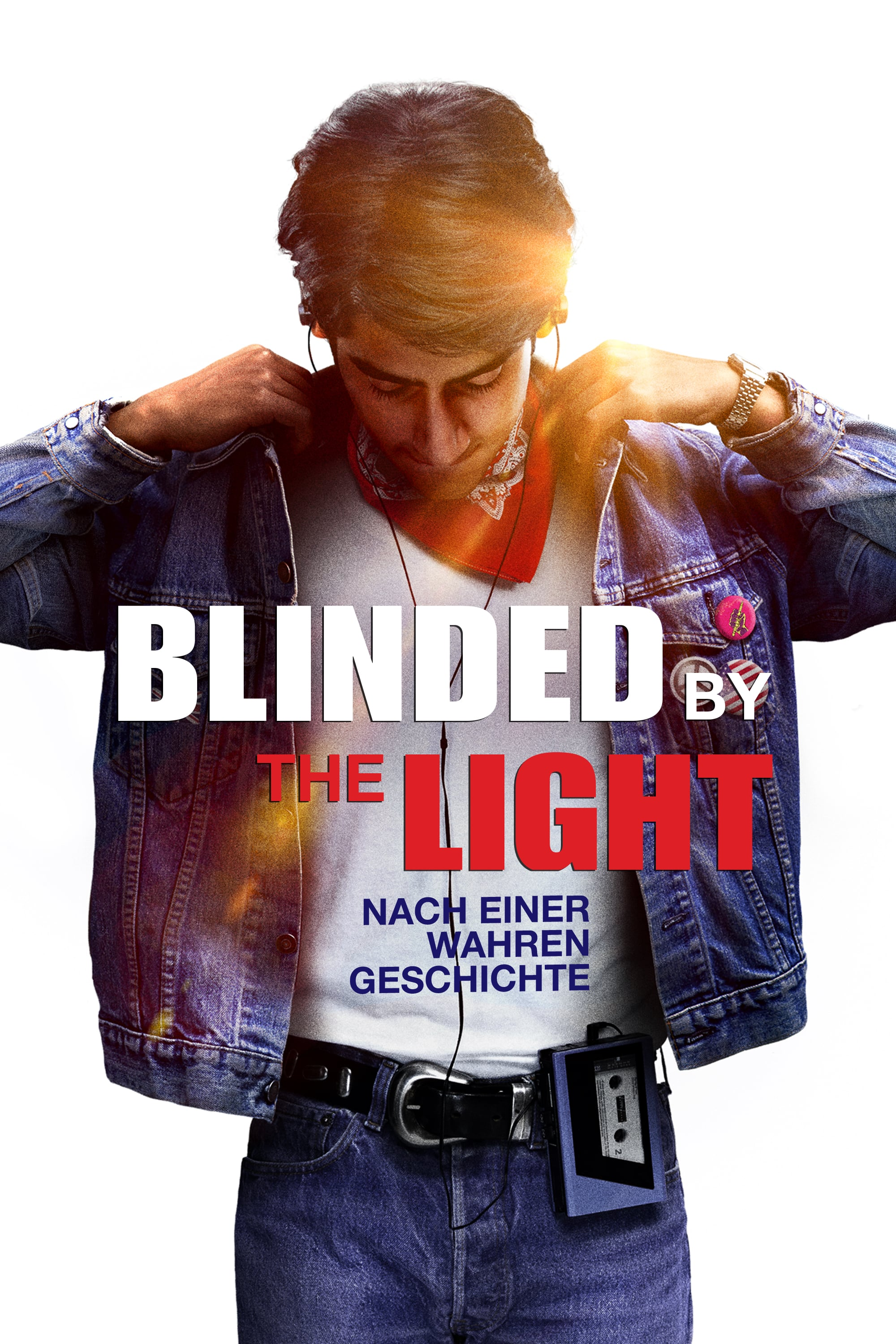 "Plakat von ""Blinded by the Light"""