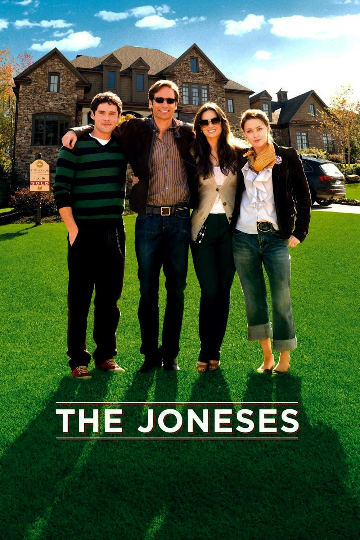 """Plakat von """"Familie Jones - Zu perfekt, um wahr zu sein"""""""