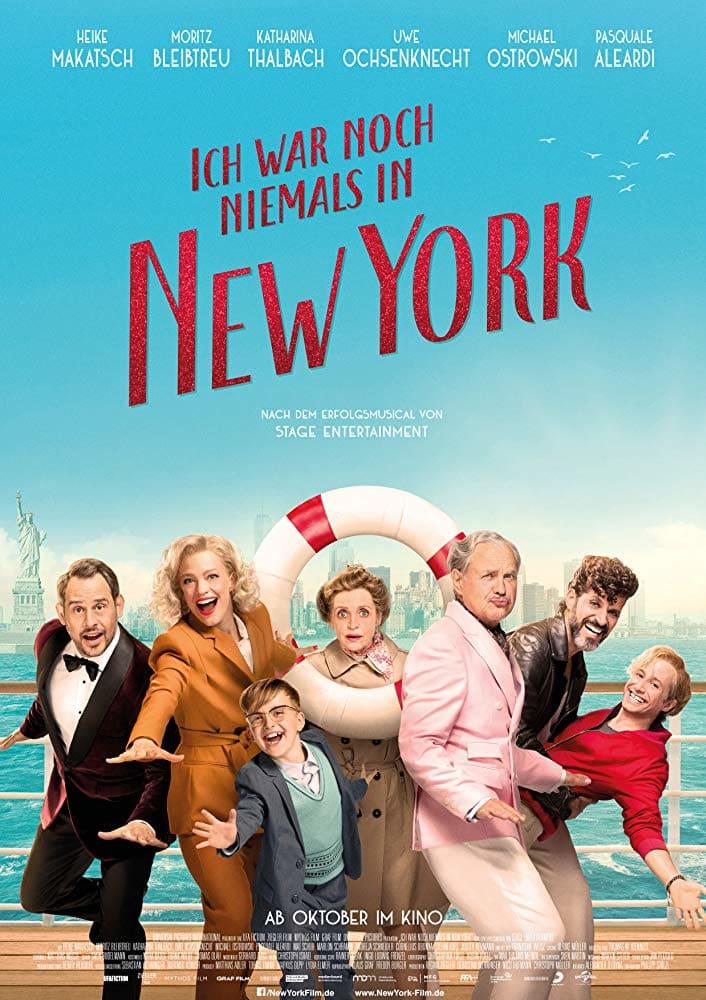 """Plakat von """"Ich war noch niemals in New York"""""""