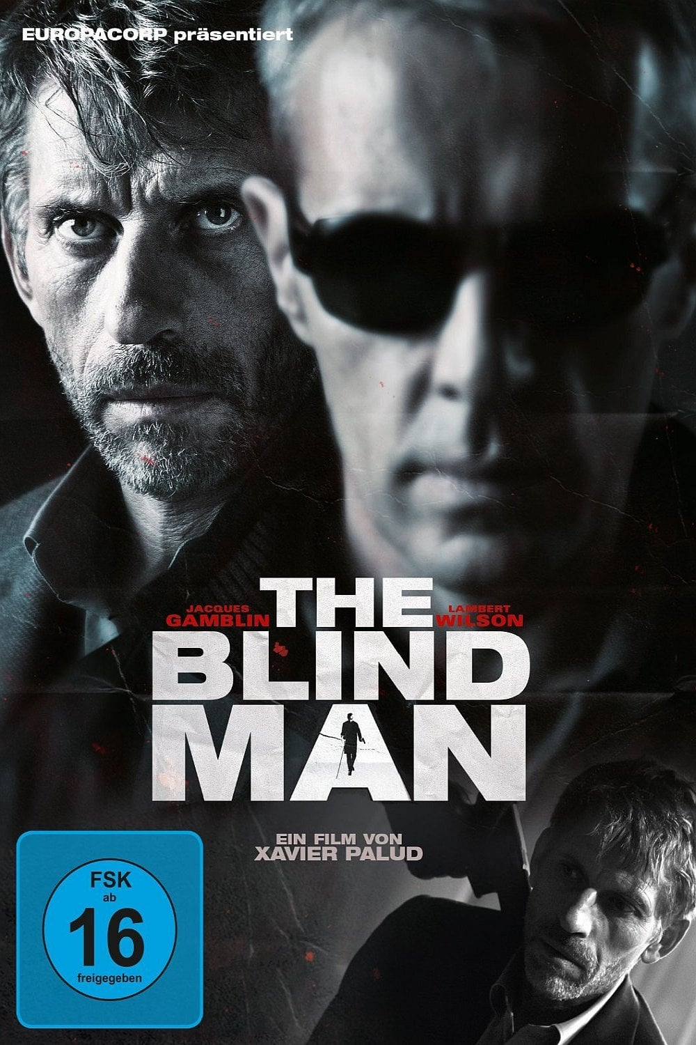 "Plakat von ""The Blind Man"""