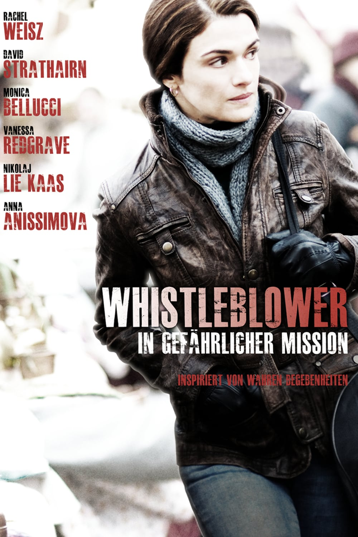 """Plakat von """"Whistleblower - In gefährlicher Mission"""""""