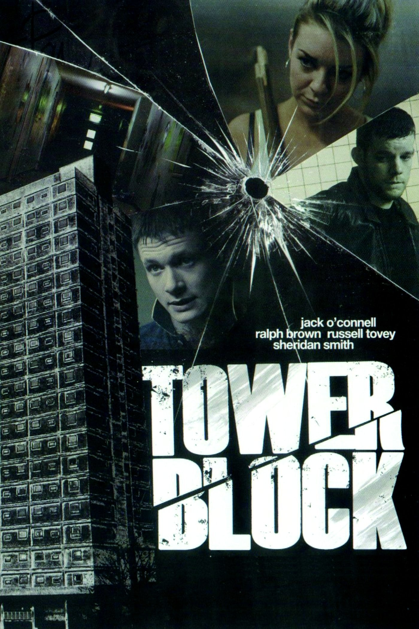 "Plakat von ""Tower Block"""
