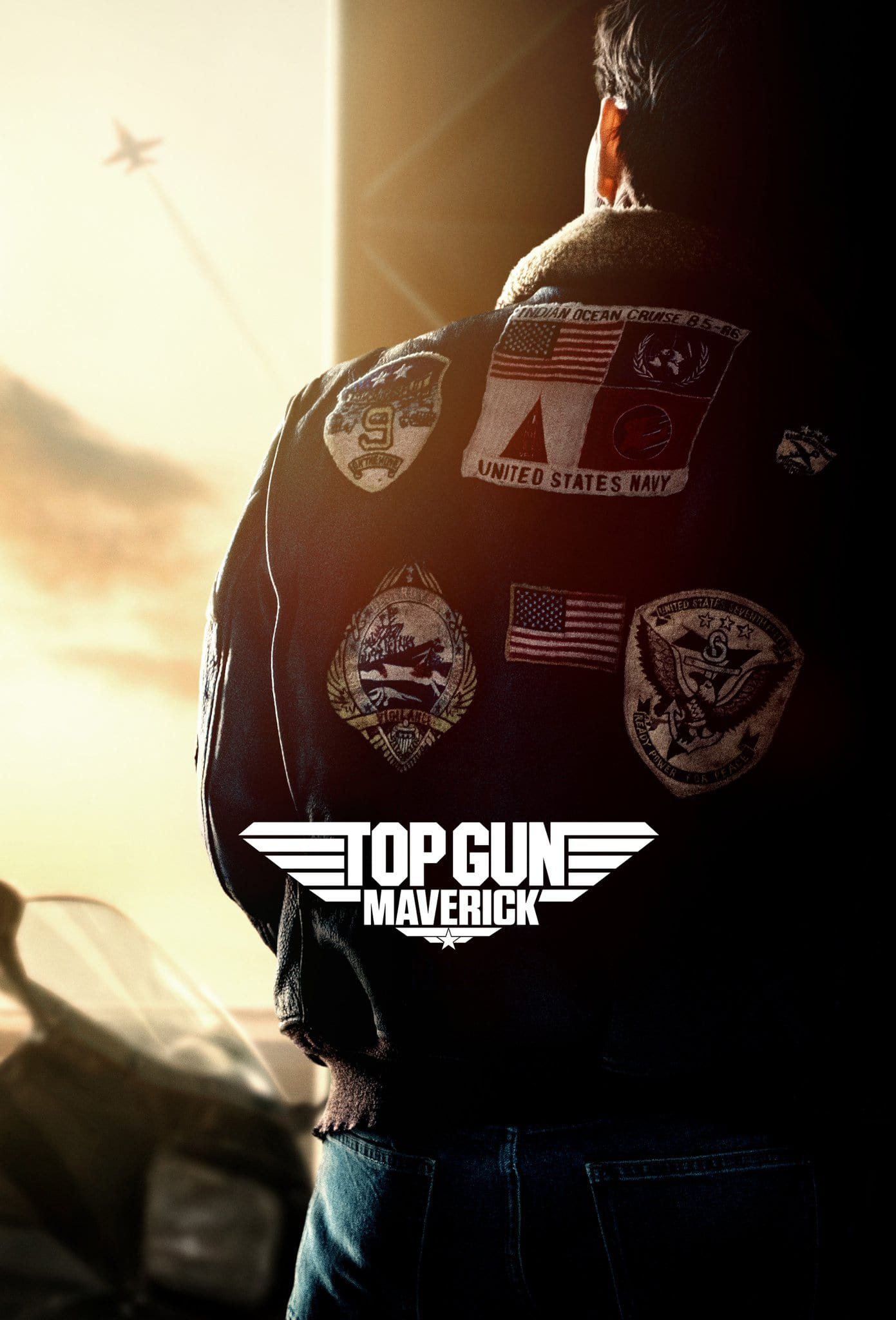 "Plakat von ""Top Gun: Maverick"""