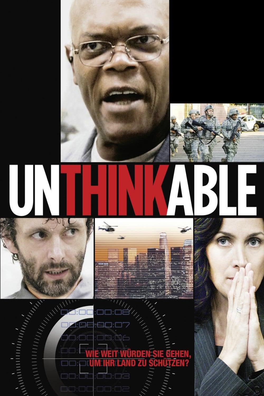 """Plakat von """"Unthinkable - Der Preis der Wahrheit"""""""