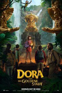 Plakat von Dora und die goldene Stadt