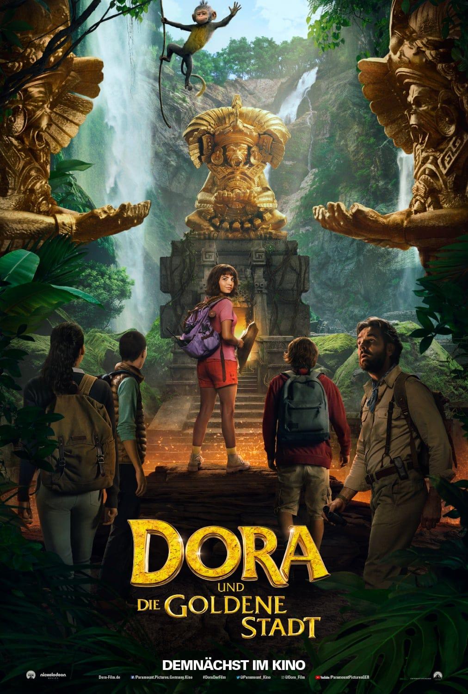 """Plakat von """"Dora und die goldene Stadt"""""""