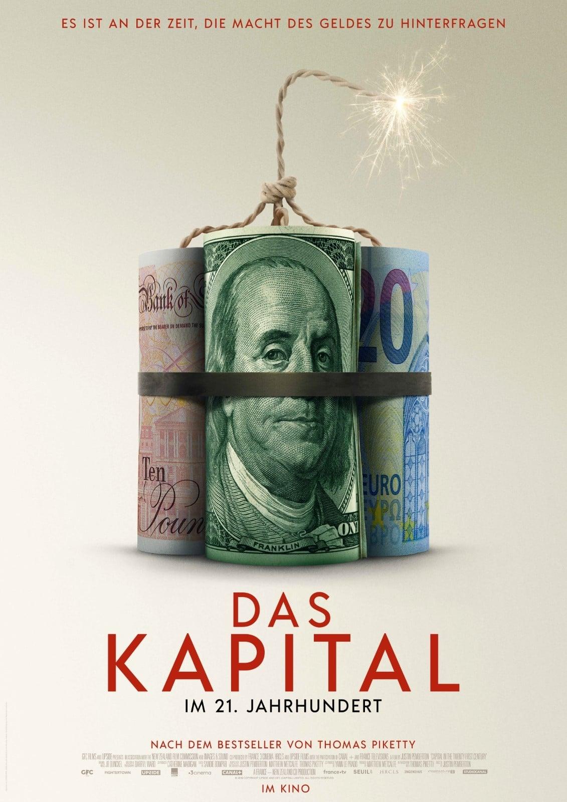 """Plakat von """"Das Kapital im 21. Jahrhundert"""""""