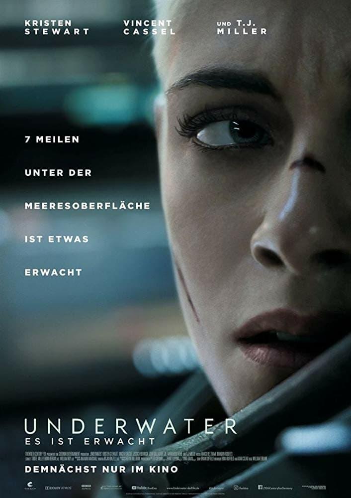 """Plakat von """"Underwater - Es ist erwacht"""""""