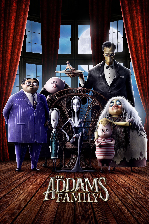 """Plakat von """"Die Addams Family"""""""