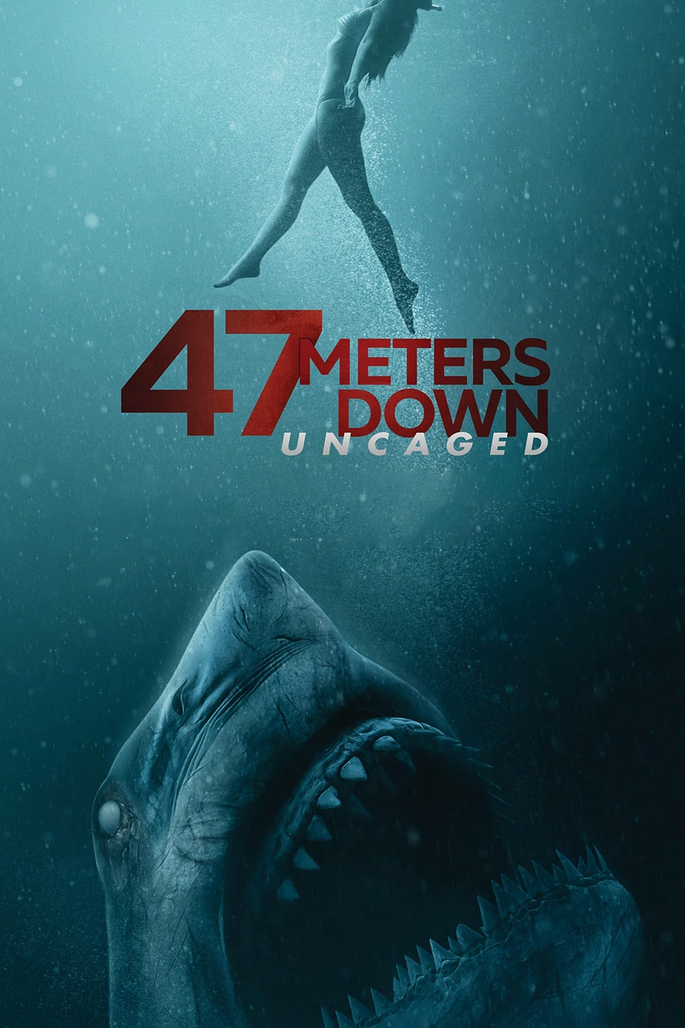 "Plakat von ""47 Meters Down: Uncaged"""
