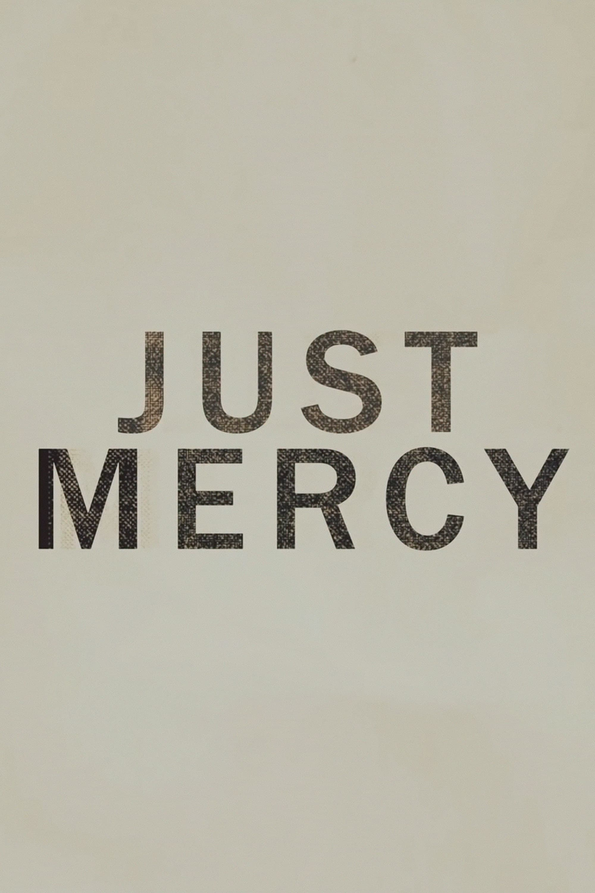 "Plakat von ""Just Mercy"""