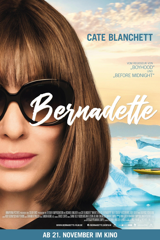 """Plakat von """"Bernadette"""""""
