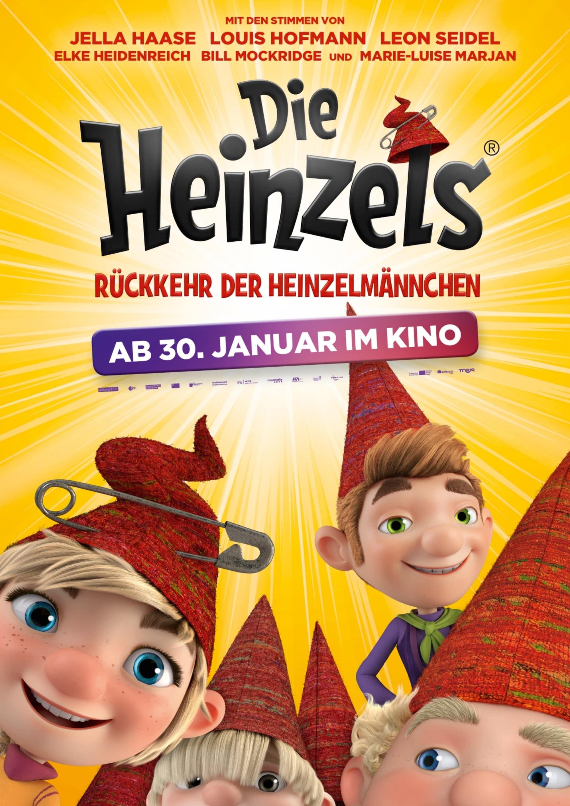 """Plakat von """"Die Heinzels"""""""