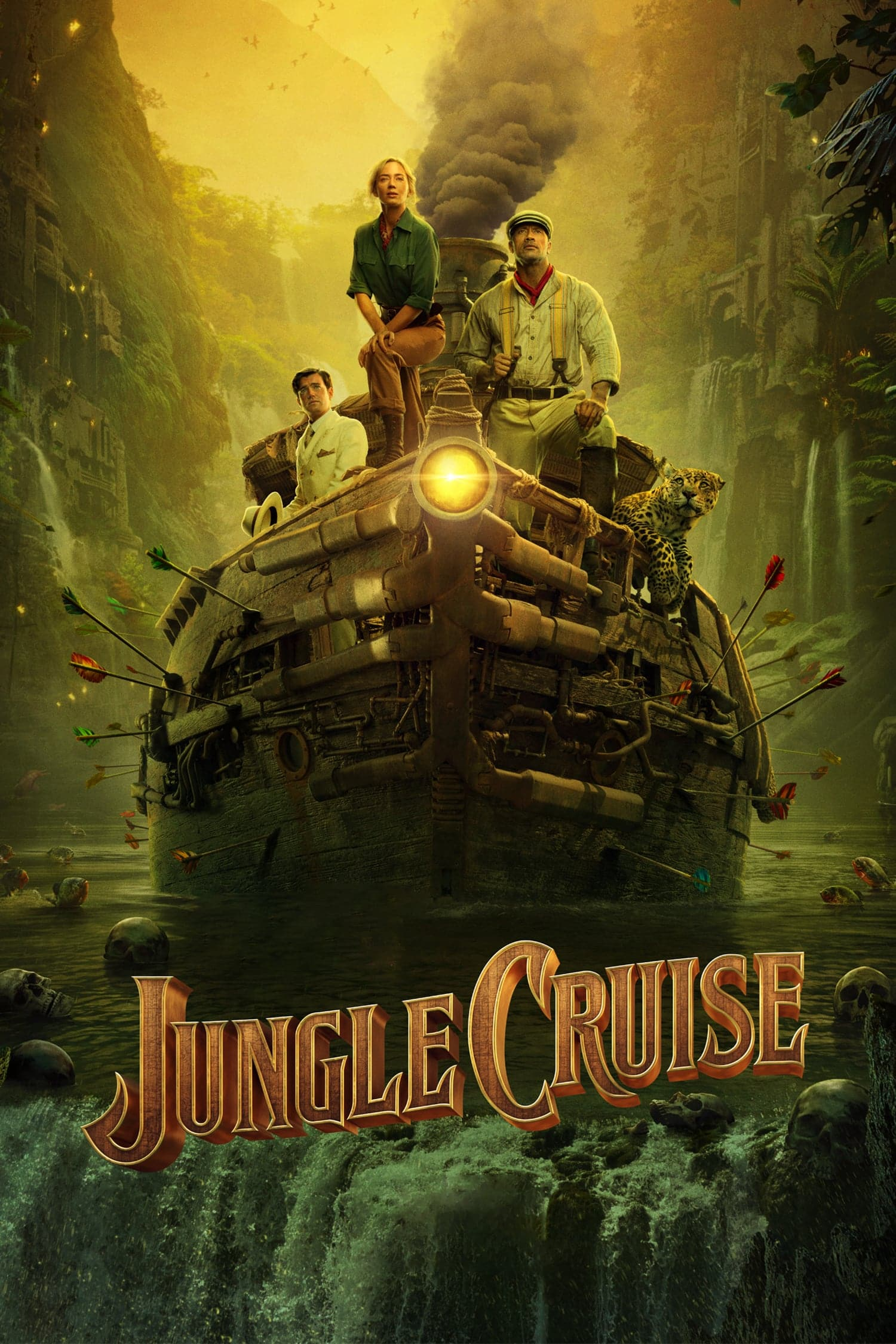 "Plakat von ""Jungle Cruise"""