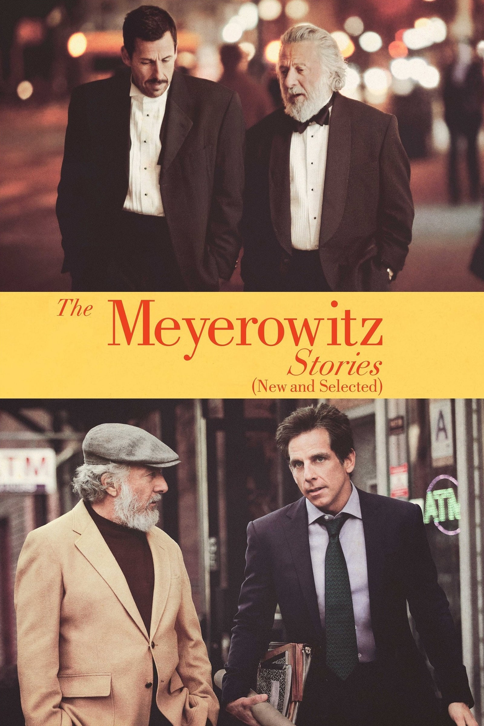 """Plakat von """"The Meyerowitz Stories (New and Selected)"""""""