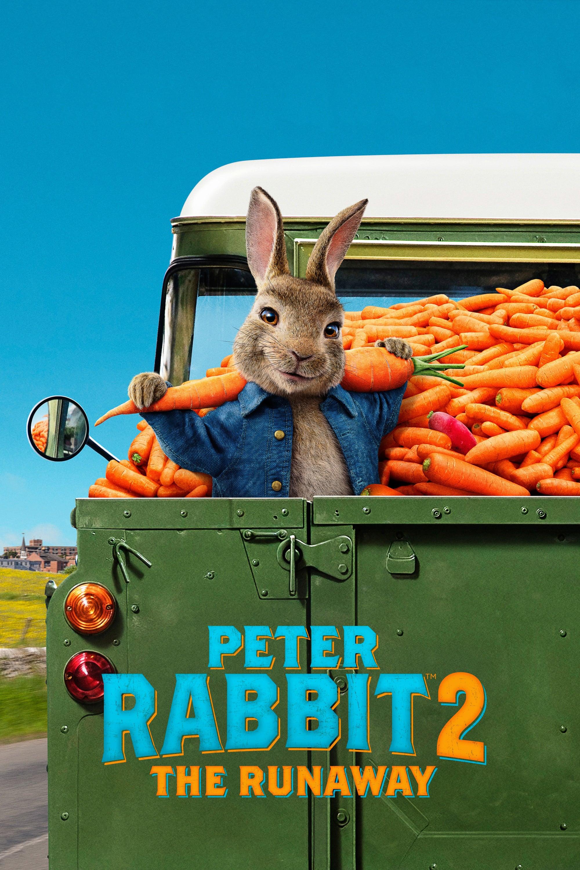 """Plakat von """"Peter Hase 2 – Ein Hase macht sich vom Acker"""""""