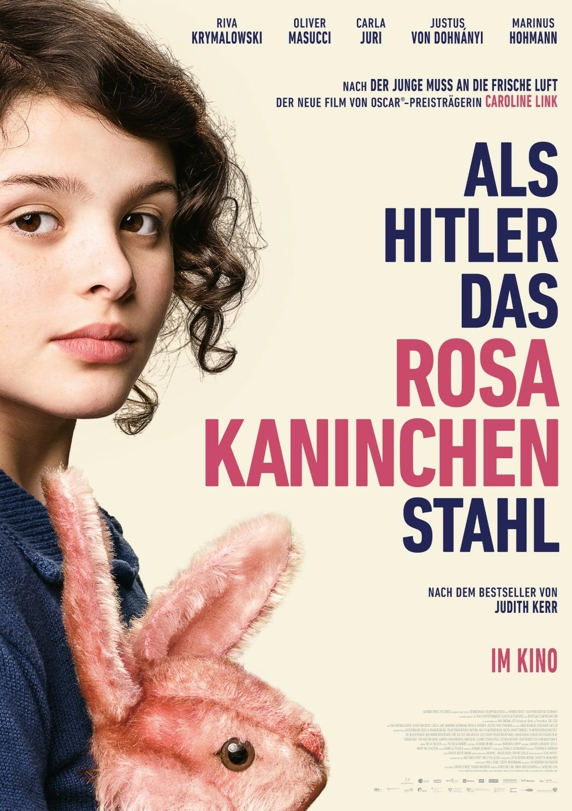 """Plakat von """"Als Hitler das rosa Kaninchen stahl"""""""