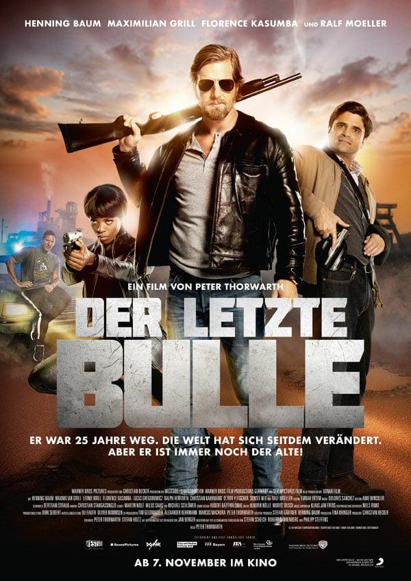 """Plakat von """"Der Letzte Bulle"""""""
