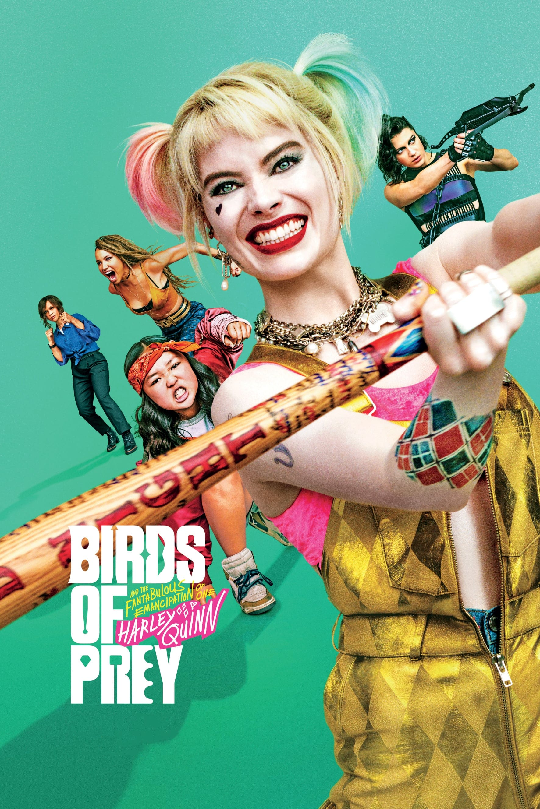 "Plakat von ""Birds Of Prey: The Emancipation Of Harley Quinn"""