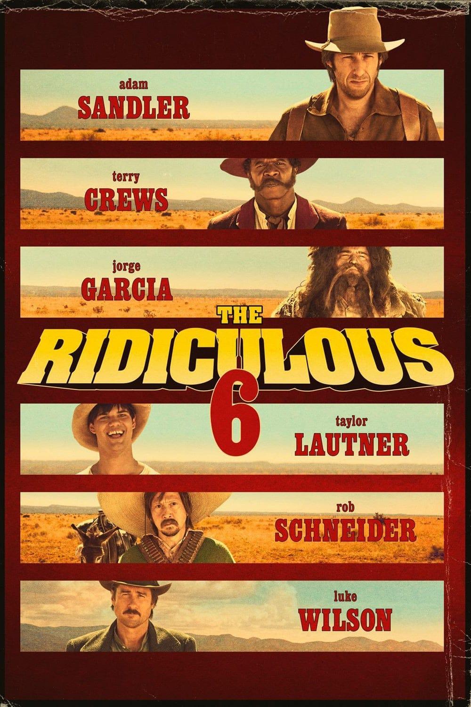 """Plakat von """"Die lächerlichen Sechs"""""""