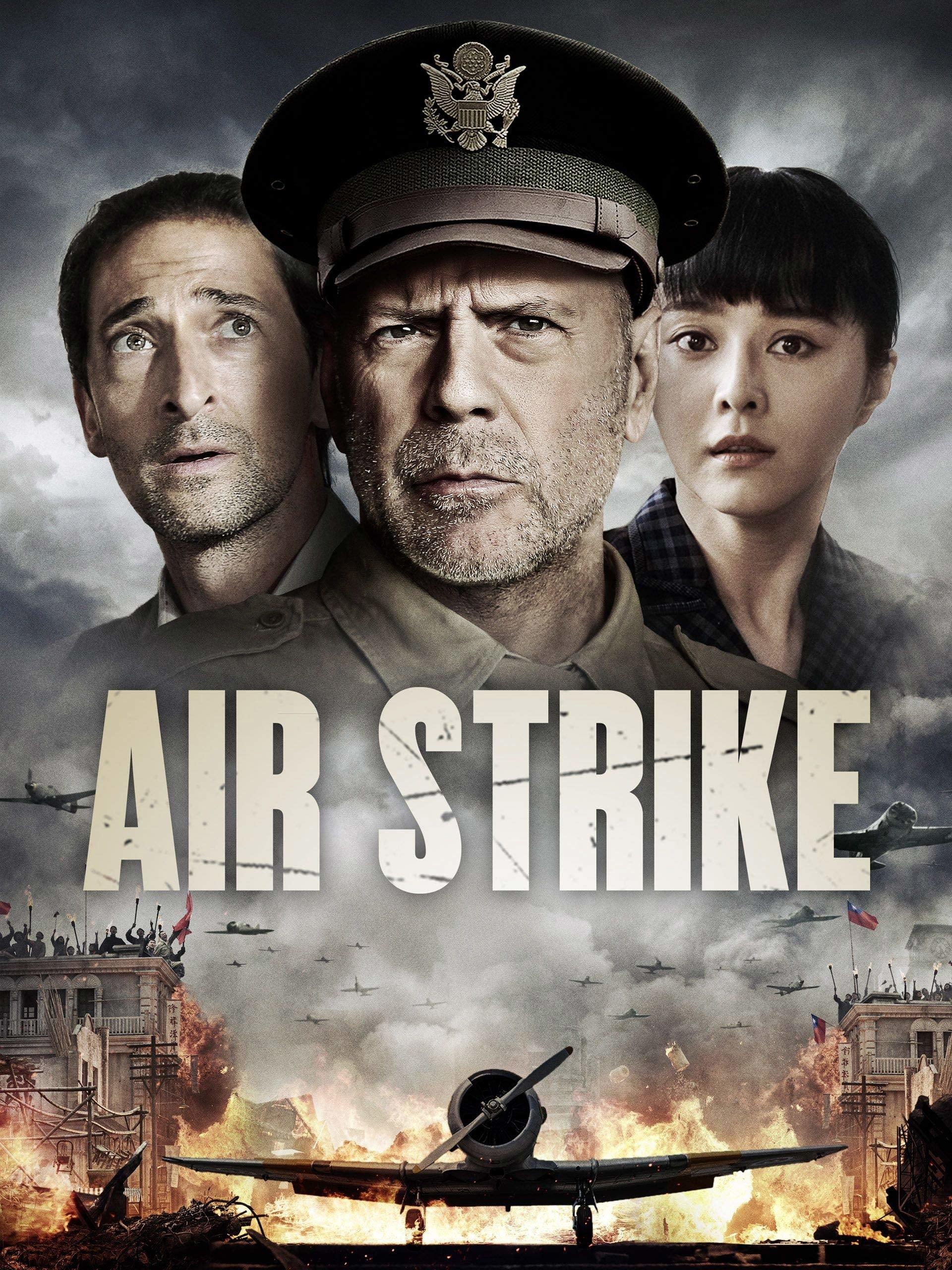 """Plakat von """"Air Strike"""""""